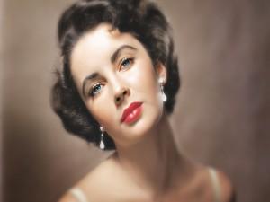 Postal: La actriz Elizabeth Taylor