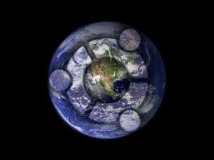Postal: Ubuntu y el planeta Tierra