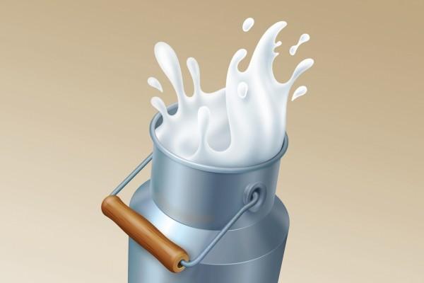 Cántaro de leche