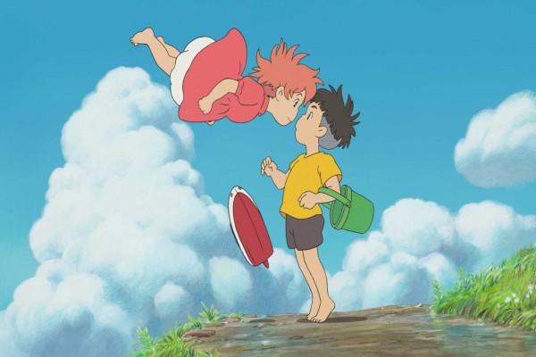 Los dos amigos, Ponyo y Sousuke