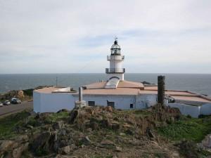 Faro del cabo de Creus en la provincia de Gerona (España)