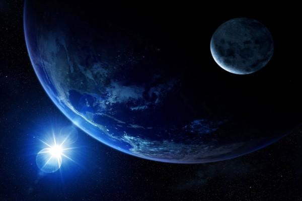 Una luz en el espacio