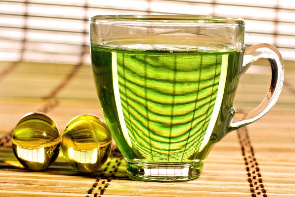 Té de color verde