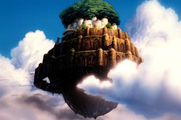 Fortaleza Celeste, Isla Flotante (Laputa)