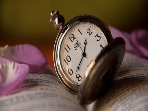 Postal: Reloj antiguo SK