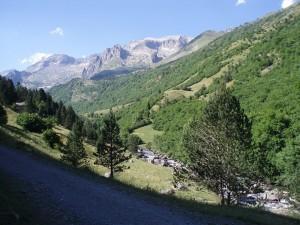 Postal: Valle de Estós (Pirineos, España)