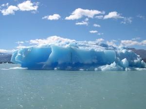 Postal: Iceberg en Lago Argentino (Argentina)
