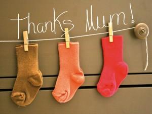 Postal: Gracias mamá