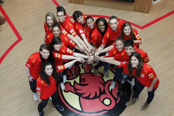Selección española femenina de baloncesto, ganadoras del Eurobasket 2013