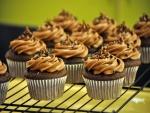 Cupcakes de chocolate y caramelo