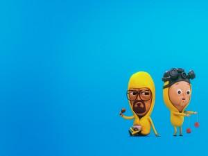 Walter y Jesse en 3D