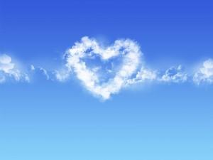 Corazón de nube