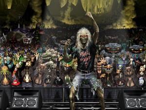 Iron Maiden, Eddie en concierto