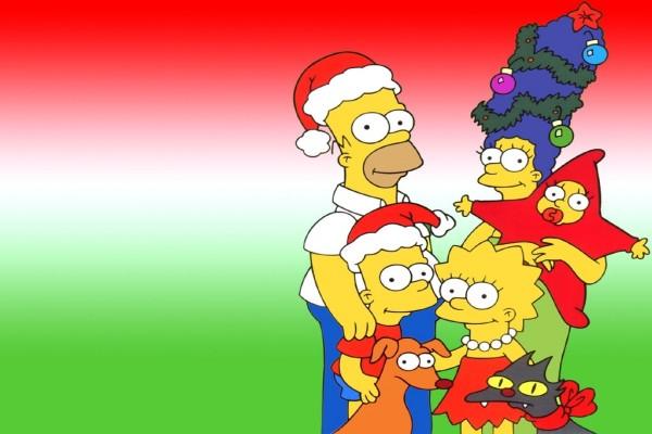 Navidad con los Simpsons