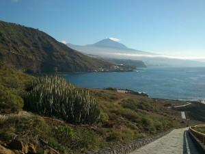 El Teide desde Rojas, El Sauzal
