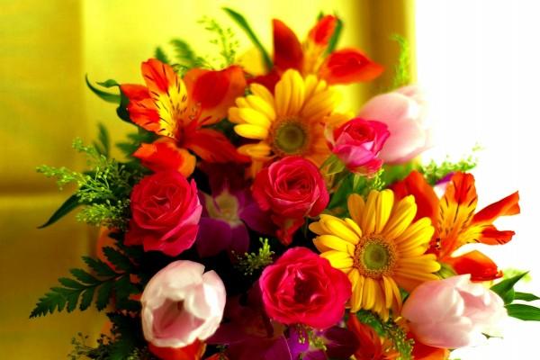 Ramo de flores primaveral