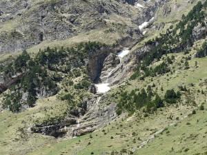 Postal: Cascada de Gavarnie (Francia)