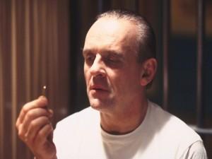 """Hannibal Lecter en """"El Silencio de los Corderos"""""""