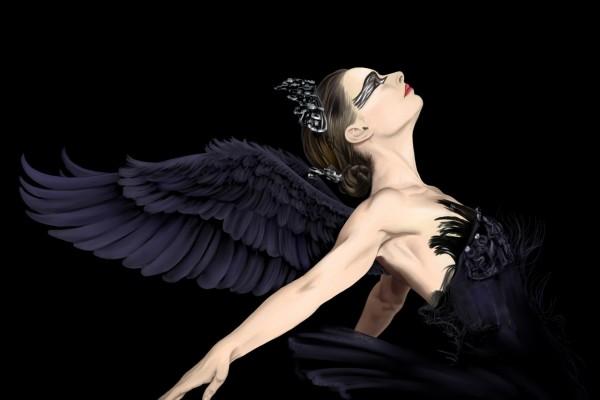 """Natalie Portman en la película """"El Cisne Negro"""""""