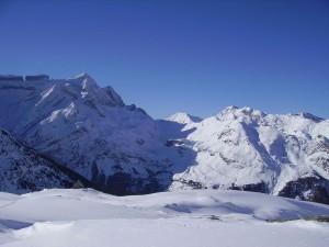 Postal: Vista de la Brecha de Rolando, en el macizo del Monte Perdido
