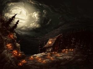 Postal: La casa de la bruja