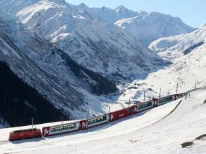 Tren Glacier Express (Andermatt)