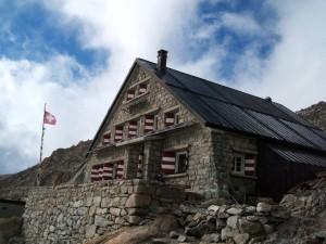 Postal: Cabaña del Trient (Suiza)