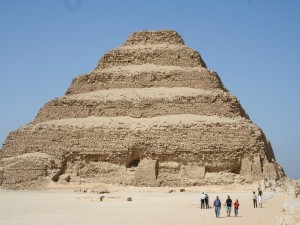 Postal: Pirámide escalonada de Zoser
