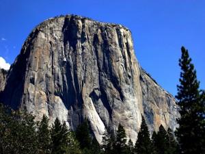 Postal: El Capitán, Parque Nacional de Yosemite