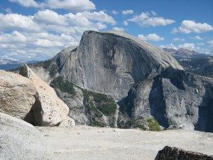 Formación rocosa en el Parque Nacional de Yosemite