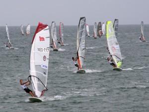 Competición de windsurf
