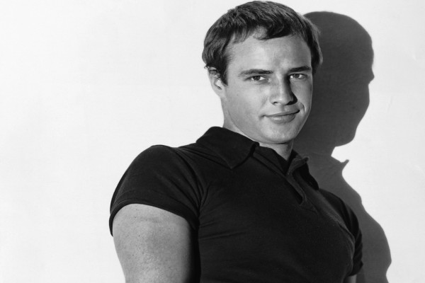 Un joven Marlon Brando