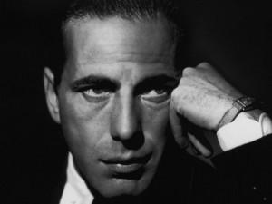 Postal: Humphrey Bogart