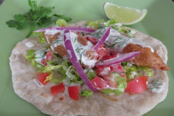 Burrito de pescado