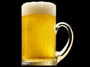 Jarra fría de cerveza