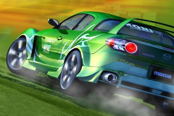 Mazda de rally