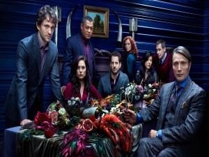 "Postal: Personajes de la serie ""Hannibal"""