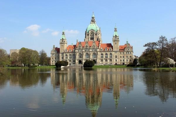 Nuevo Ayuntamiento de Hannover