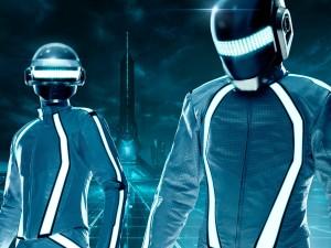 """Daft Punk, autores de la banda sonora de """"Tron: Legacy"""""""