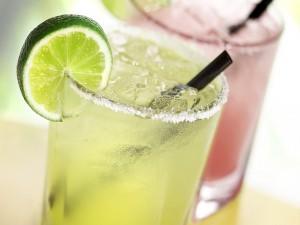 Postal: Bebida fría de limón