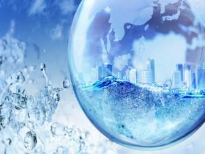 Una ciudad dentro de una gota de agua