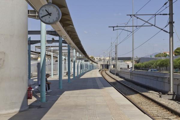 Estación Proastiakos, cercana a Atenas (Grecia)