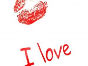 """Beso y un """"te amo"""""""