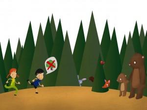 Postal: Hay que proteger los bosques