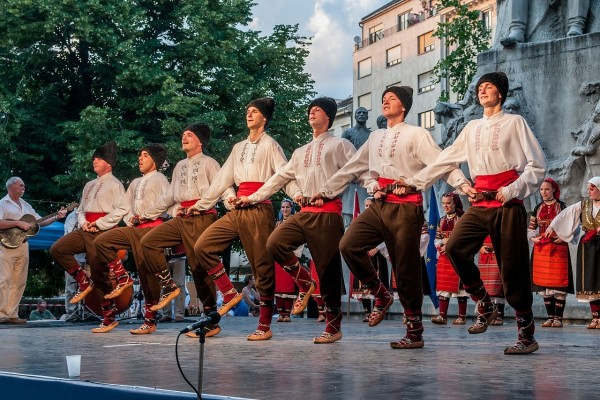 Danza folclórica de Budapest
