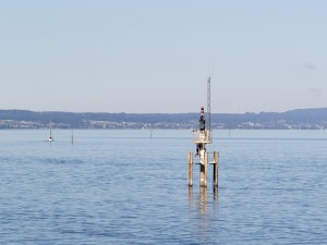 Faro del puerto de Friedrichshafen