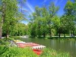 Muelle de canoas