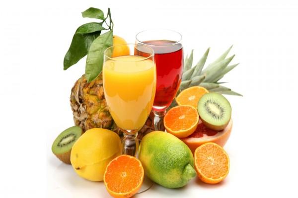 Zumos y frutas