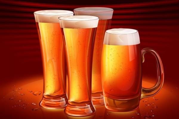 Unas cervezas