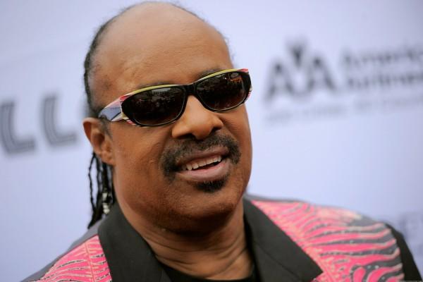 El cantante Stevie Wonder